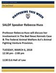 SALDF Speaker: Rebecca Huss