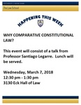Why Comparative Constitutional Law?