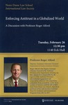 Enforcing Antitrust in a Globalized World by Notre Dame Law School and International Law Society
