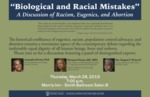 Biological and Racial Mistakes: A Discussion of Racism, Eugenics, and Abortion by De Nicola Center for Ethics and Culture