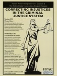 Correcting Injustices in the Criminal Justice System by Future Prosecuting Attorneys Council and Notre Dame Exoneration Project