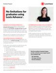 No Limitations for Graduates Using Lexis Advance by LexisNexis