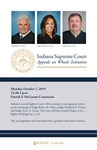 Indiana Supreme Court Appeals on Wheels Initiative by Notre Dame Law School