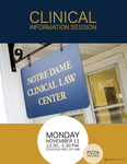Clinical Information Session by Notre Dame Clinical Law Center
