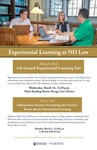 Third Annual Experiential Learning Fair by Notre Dame Law School