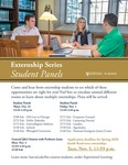 Externship Series: Student Panels by Notre Dame Law School