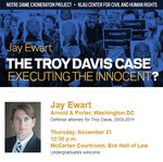 The Troy Davis Case: Executing the Innocent? by Notre Dame Exoneration Project and Klau Center for Civil and Human Rights