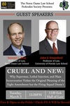 Cruel and New by Federalist Society and Future Prosecuting Attorney's Council