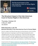 The Structural Impact of the Inter-American Court of Human Rights in the Americas by Kellogg Institute for International Studies, Notre Dame Reparations Design and Compliance Policy and Practice Lab, and Klau Center for Civil and Human Rights