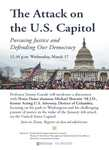 The Attack on the U.S. Capitol: Pursuing Justice and Defending Our Democracy by Notre Dame Law School, Future Prosecuting Attorneys Council, Thomas F. Fay Peace Through Law Enforcement for Excellence, and American Constitution Society