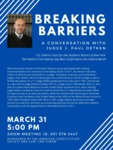 Breaking Barriers: A Conversation with Judge J. Paul Oetken by The American Constitution Society and LGBT Law Forum