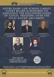 Fifth Annual Religious Freedom Tournament by Notre Dame Law School and Notre Dame Moot Court Board